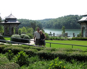Janet and Len Nardone in The Reserve at Lake Keowee Village.