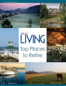 The Reserve at Lake Keowee is featured as a Top Place to Retire