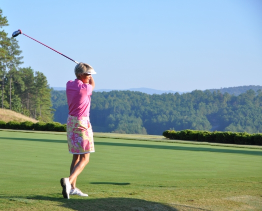The Reserve at Lake Keowee's 2010 Ladies' Member-Guest Tournament; one of many tournaments held annually on the Lake Keowee Jack Nicklaus Signature Golf Course.