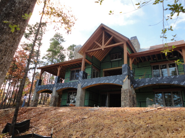 Home plans life on keowee for Lake keowee house plans