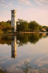 Forbes.com America's most beautiful college campuses Furman University bell tower, Greenville South Carolina
